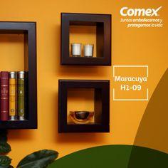 Si buscas crear espacios únicos y llenos de vida, el color maracuya puede ayudarte. #Maracuya #Decoración #ComexPinturerias