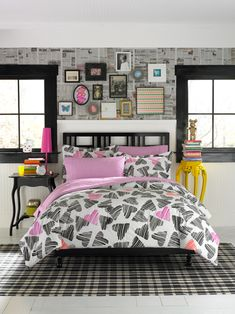 Teen Vogue Punky Sweethearts Comforter Set