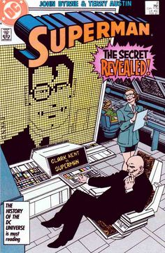 SUPERMAN #2 VOLUME 2 (1987-2006) John Byrne Scripts - Pencils - Cover Art The Secret Revealed! – Lex Luthor has asked his researchers to find out about anyone that may have a connection to Superman. Amanda Marie McCoy discovers that a woman named Lana Lang has been seen in background photographs at known Superman appearances. Luthor has a team of people investigate the Lang angle.