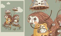 Book de Florent Demay via http://flambi.ultra-book.com/portfolio