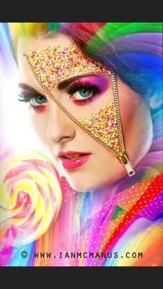 fantasy candy makeup - Google Search