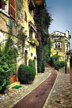 St. Paul de Vence ~ France - Got to spend a lovely day here in '93.