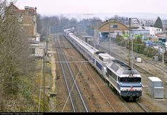 CC 72084 SNCF CC 72000 at Bry-sur-Marne, France by Jean-Marc Frybourg