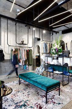 La Maison Jolie: Design Envy: A Design Forward Fashion Boutique! Source by raniengineer clothing Fashion Shop Interior, Clothing Boutique Interior, Fashion Store Design, Clothing Store Design, Retail Interior Design, Boutique Interior Design, Boutique Decor, Retail Store Design, Fashion Boutique