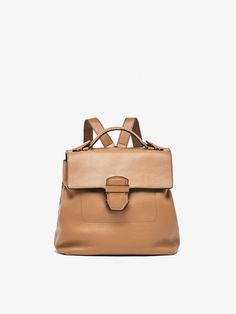 Autumn winter 2016 Women´s EMBOSSED TAILORED LEATHER BACKPACK at Massimo Dutti for 179. Effortless elegance!