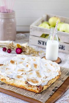 Finnish Recipes, Sweet Cakes, Feta, Camembert Cheese, Food And Drink, Dairy, Sweets, Baking, February