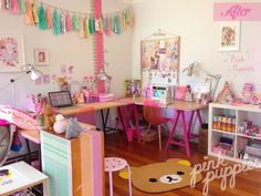 - http://pink-puppies.com/mt-casa-pink-puppies-studio-makeover/