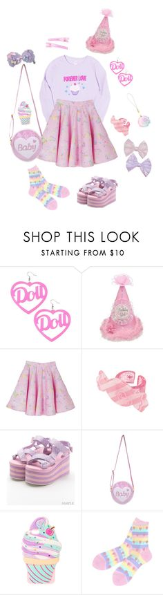 """Birthday Girl ~!!☆"" by sweetpasteldream ❤ liked on Polyvore featuring claire's"