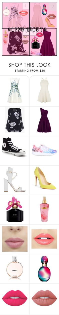"""""""Untitled #6"""" by beatrice-ioana on Polyvore featuring beauty, ERIN Erin Fetherston, Topshop, Converse, NIKE, Paul Andrew, Christian Louboutin, Marc Jacobs, Victoria's Secret and Fiebiger"""
