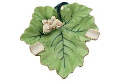 Leaf & Butterfly Ashtray