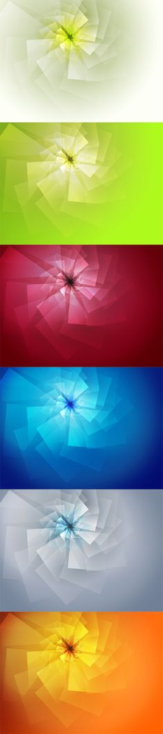 Abstract Swirled Backgrounds