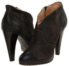 Frye - Harlow Campus Bootie (Tan Vintage Distressed Leather) - Footwear on shopstyle.com