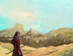 Lost City by Blackyinkin