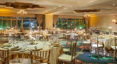 A gorgeous ballroom destination wedding reception at St. Kitts Marriott Royal Beach Casino