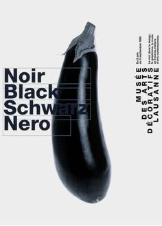 Black  B/W photography and clean typography characterises the poster work of Swiss graphic designer,Werner Jeker.
