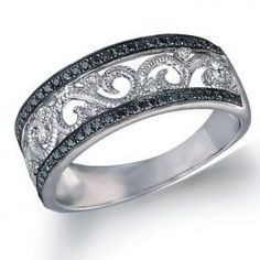 Love this. Black Diamond Ring