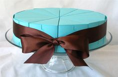 Great Favor idea if you do not want a huge wedding cake
