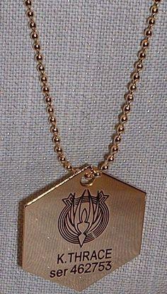 Battlestar Galactica starbuck medal