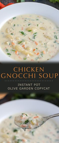 This Olive Garden Instant Pot Chicken Gnocchi Soup recipe is can be made in 30 minutes, and the flavour is simply outstanding. With chicken, stock, vegetables and spices combined to perfection - this is one soup recipe that is a perfect restaurant copycat.