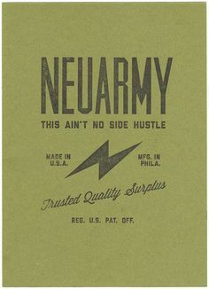 neuarmy surplus co label - Google Search
