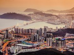 If Seoul is Korea's New York, Busan might be its Los Angeles–Miami hybrid. It's renowned in East Asia for its miles of wide sandy beaches, seaside vistas, and busy quayside scene. —M.S.
