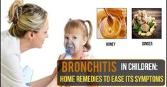 Bronchitis In Children: Home Remedies To Ease Its Symptoms - Remedies Lore Home Remedies For Bronchitis, Asthma Remedies, Dry Throat Remedy, What Is Asthma, Ginger And Honey, Muscle Mass, Kids House, Children, Gold Bullion