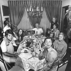 The Meisler, Forkash & Cash Clan Welcoming a Sweet New Year North Massapequa, NY Rosh Hashanah 1974 © Meryl Meisler New York Photography, Photography Projects, Art Photography, Vintage Photographs, Vintage Photos, Photographie New York, Vintage New York, The New Yorker, Long Island