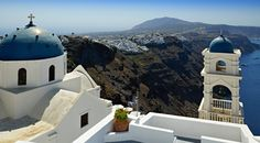 Church with view, Santorini island