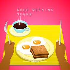 Good Morning Sugar! Today you rule your world... #Cokards #Creative #Agency by cokards