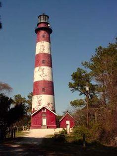 Assateaque Island Lighthouse Virginia