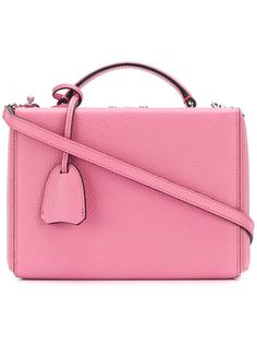 Designer Cross-Body Bags & Purses for Women Mark Cross, Small Boxes, Satchels, Calf Leather, Calves, Pretty, Pink, Bags, Shopping