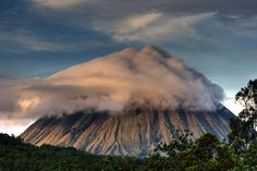 Veiled Volcano | Inerie volcano near Bajawa, Flores Island, … | Flickr - Photo Sharing!
