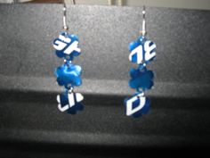 more upcycled Bud Light can earrings