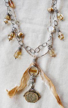 open necklace - nina bagley