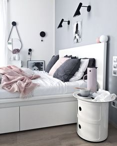 White And Pastel Bedroom 123