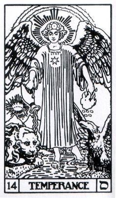 Temperance - Builders of the Adytum Tarot (B.O.T.A. Tarot)