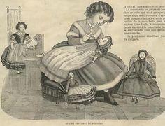Mode ILLUSTREE Pattern Jan 1 1866 Special Doll Costumes | eBay