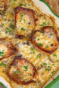 Crock Pot Recipes, Pork Chop Recipes, Meat Recipes, Cooking Recipes, Recipies, Meat And Potatoes Recipes, Pork Meals, Kid Recipes, Cooking Ideas