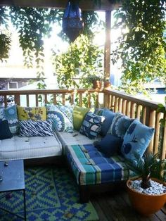 Porch Featured on Apartment Therapy