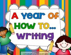 A Year of How To...Writing