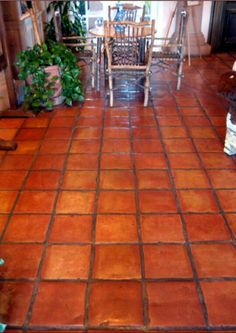 I have always been a huge fan of saltillo tiles. Beautiful.