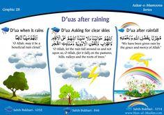 Silsila Azkar-E-Masnoona: Duas after raining My Dua, Silent Words, Islam For Kids, Just Pray, All About Islam, Rain Clouds, Islamic Love Quotes, Clear Sky