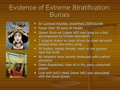 Facts on Burial Tomb of Ur. Mesopotamia.