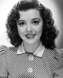 Therese Ann Rutherford (November 2, 1917 – June 11, 2012), known as Ann Rutherford, was a Canadian-American actress in film, radio, and television. She had a long career starring and co-starring in films, playing Polly Benedict during the 1930s and 1940s in the Andy Hardy series, and as Scarlett O'Hara's sister in the film Gone With the Wind (1939).