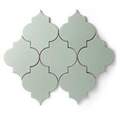 Ogee | Patterns | Eco-Friendly Handmade Ceramic Tile | Fireclay Tile