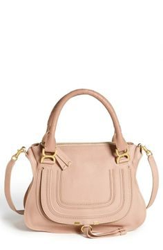 Chloé  Medium Marcie  Leather Satchel  724cfd4f810