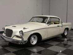 gold and white studebaker hawk - - Yahoo Image Search Results