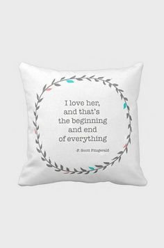 Pillow Cover Wedding Gift Anniversary Gift