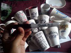 Me and my whole life :) DIY Sharpie mug