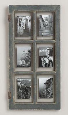 DIY : Présentez vos photos dans d'anciennes fenêtres